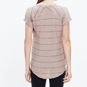 Madewell stripe T-shirt small
